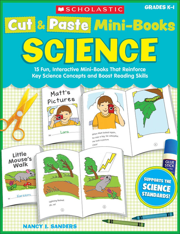 Cut & Paste Mini-Books: Science