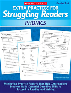 Extra Practice for Struggling Readers: Phonics (4632398790752)