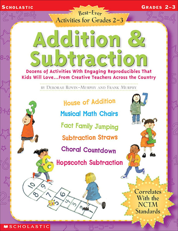 Best-Ever Activities for Grades 2-3: Addition & Subtraction