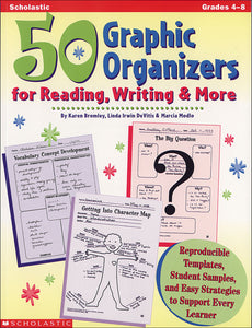 50 Graphic Organizers for Reading, Writing & More (4632412848224)