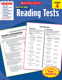 Scholastic Success With Reading Tests: Grade 4 Workbook (4632415895648)