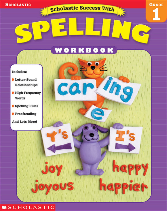 Scholastic Success with Spelling Grade 1 (4632445059168)