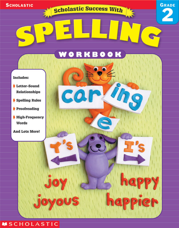 Scholastic Success with Spelling Grade 2 (4632445321312)