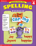 Scholastic Success with Spelling Grade 4 (4632445288544)