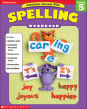 Scholastic Success with Spelling: Grade 5 (4632444436576)