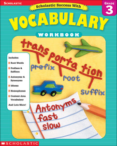 Scholastic Success with Vocabulary Grade 3 (4632445255776)