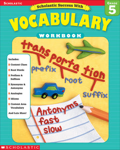 Scholastic Success with Vocabulary Grade 5 (4632445223008)