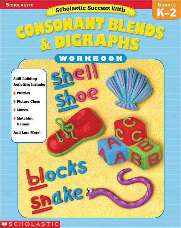 Scholastic Success with Consonant Blends & Digraphs (4632445124704)