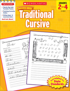 Scholastic Success With Traditional Cursive: Grades 2-4 Workbook (4632418025568)