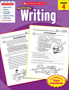 Scholastic Success With Writing: Grade 4 Workbook (4632418320480)