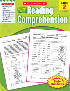 Scholastic Success With Reading Comprehension: Grade 2 Workbook
