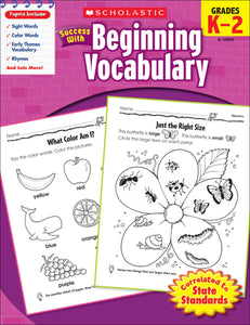 Scholastic Success with Beginning Vocabulary (4632445157472)