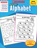 Scholastic Success With Alphabet Workbook (4632419729504)