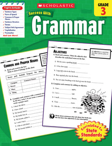 Scholastic Success with Grammar Grade 3
