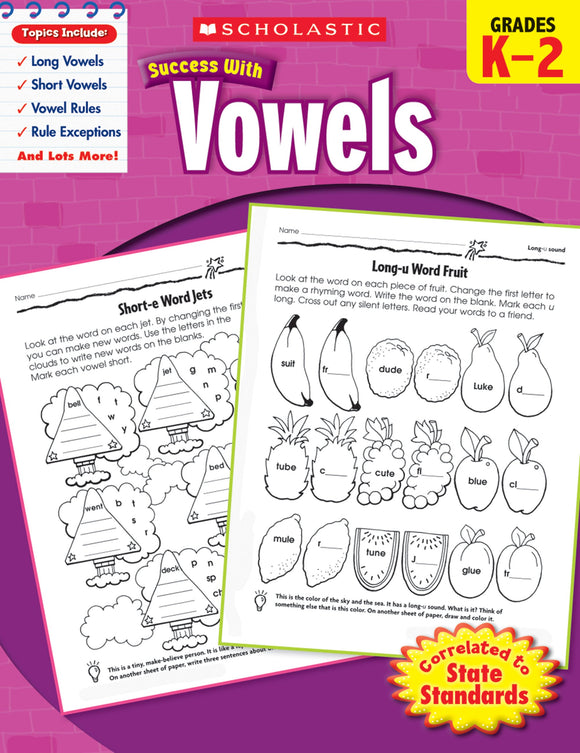 Scholastic Success with Vowels (4632444797024)