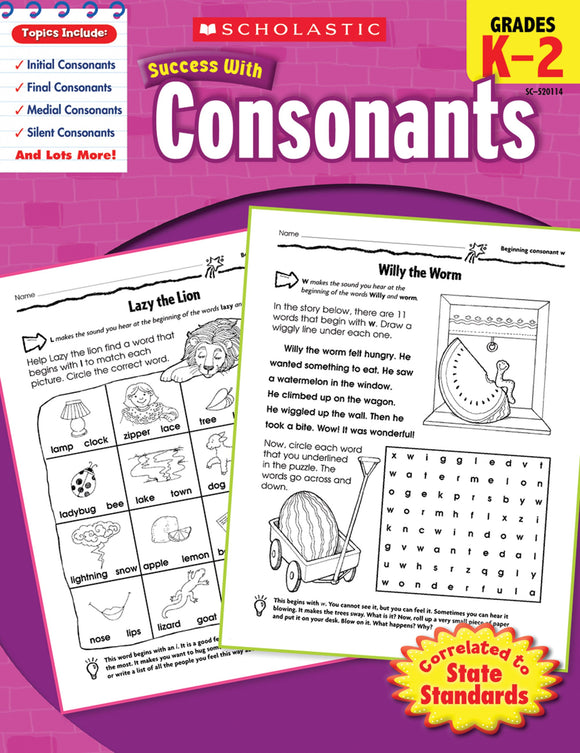 Scholastic Success with Consonants (4632444829792)