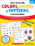 Now I Know My Colors, Shapes & Patterns Learning Mats