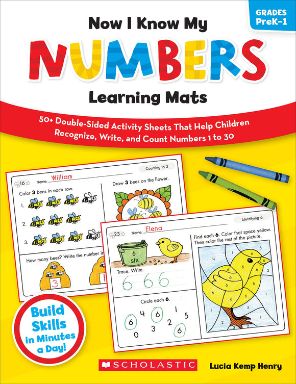 Now I Know My Numbers Learning Mats (4632421761120)