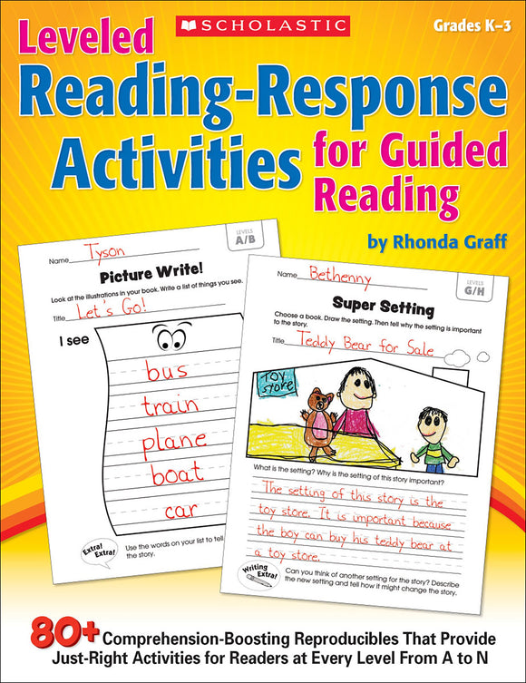 Leveled Reading-Response Activities for Guided Reading (4632400527456)