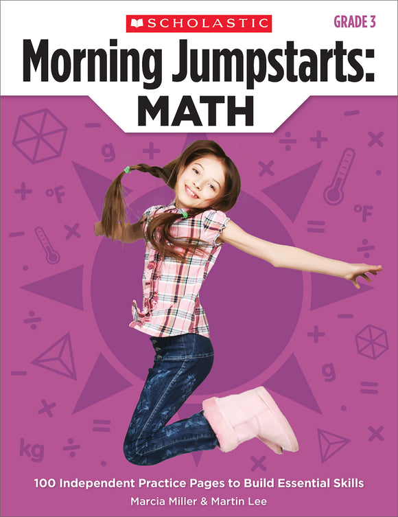 Morning Jumpstarts: Math: Grade 3