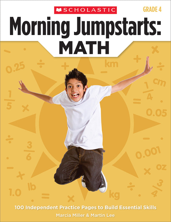 Morning Jumpstarts: Math: Grade 4 (4632401281120)