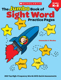 The Jumbo Book of Sight Word Practice Pages (4632402460768)
