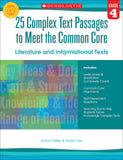 25 Complex Text Passages to Meet the Common Core: Literature and Informational Texts: Grade 4 (4632382668896)
