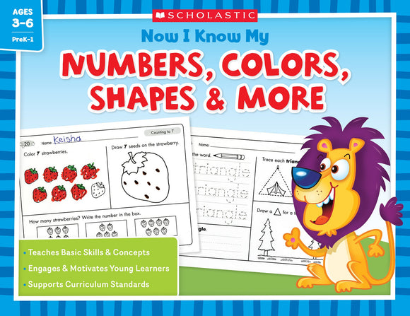 Now I Know My Numbers, Colors, Shapes & More (4632381915232)