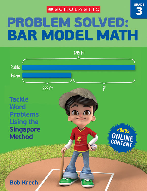 Problem Solved: Bar Model Math: Grade 3
