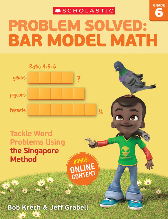 Problem Solved: Bar Model Math Grade 6 (4632412258400)