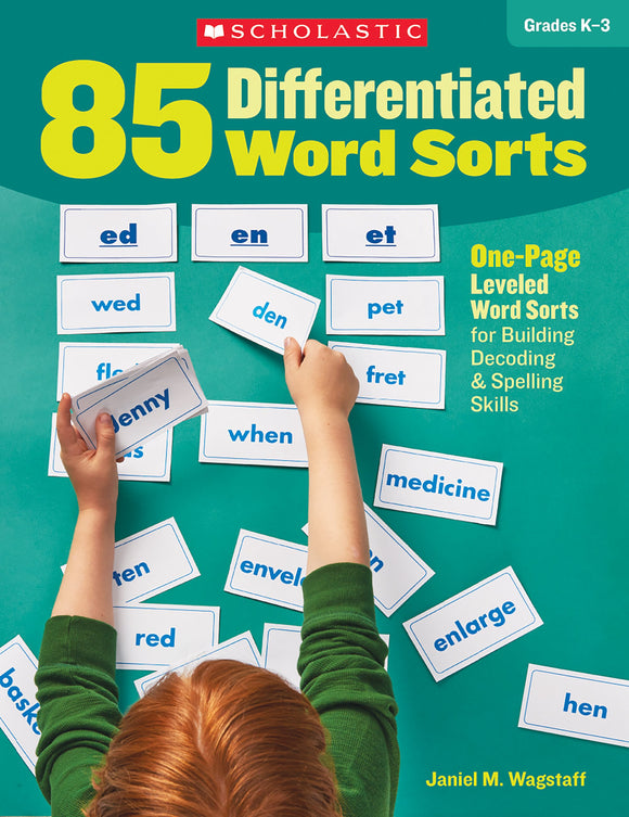 85 Differentiated Word Sorts (4632422154336)
