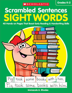 Scrambled Sentences: Sight Words (4632422252640)