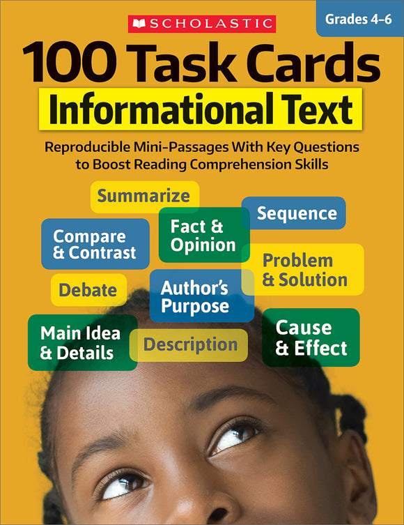 100 Task Cards: Informational Text (4632422383712)