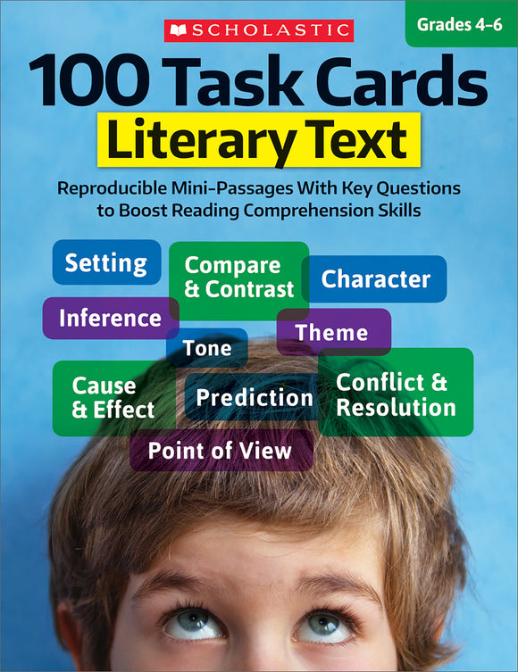 100 Task Cards: Literary Text (4632422514784)