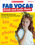 Fab Vocab: Greek and Latin Roots (4632422973536)