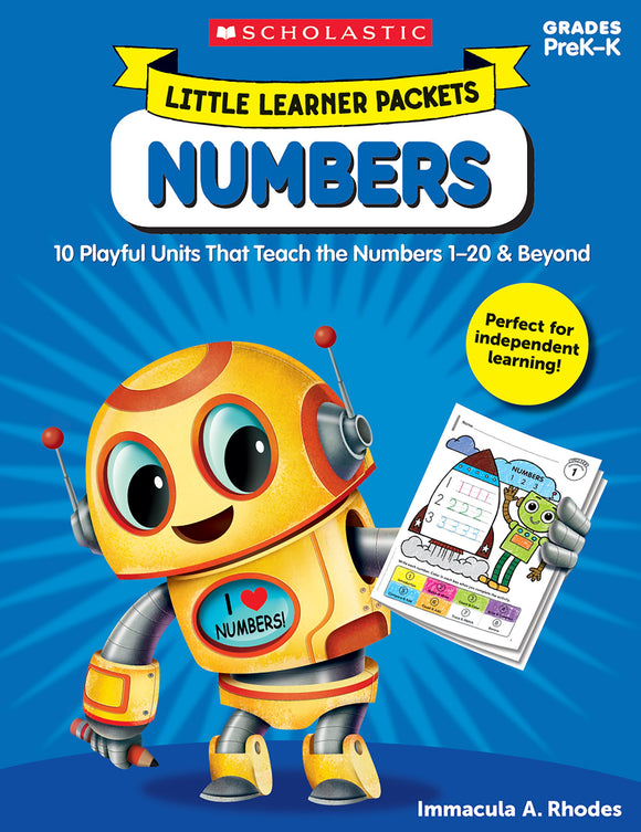 Little Learner Packets: Numbers (4632425267296)
