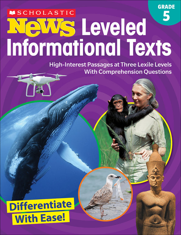 Scholastic News: Leveled Informational Texts Grade 5 (4632426152032)