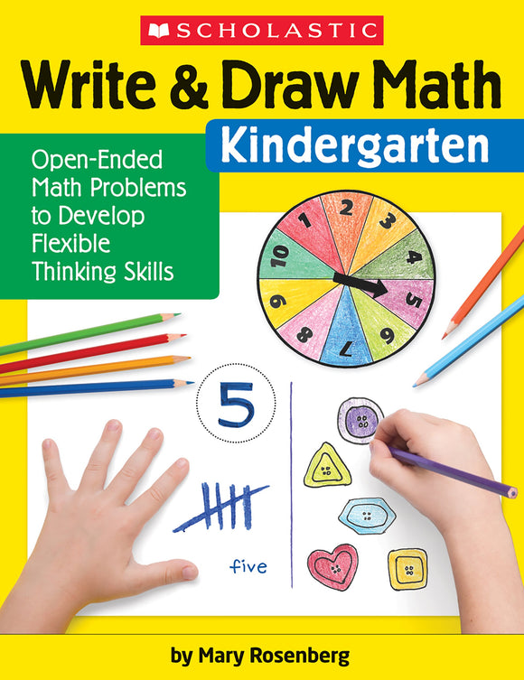 Write & Draw Math: Kindergaten