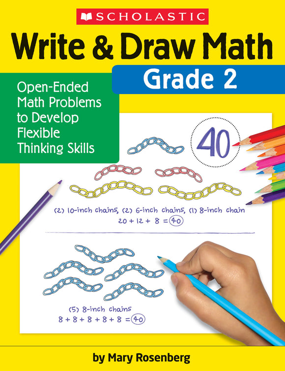 Write & Draw Math: Grade 2
