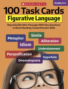 100 Task Cards: Figurative Language (4712529756256)