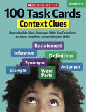 100 Task Cards: Context Clues (4632427364448)