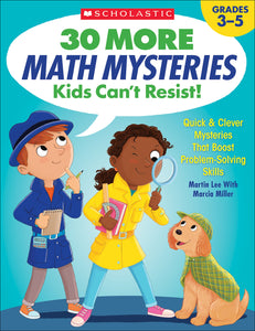 30 More Math Mysteries Kids Can't Resist! (4632427462752)