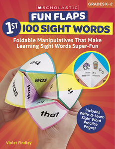 Fun Flaps: 1st 100 Sight Words (4632427528288)