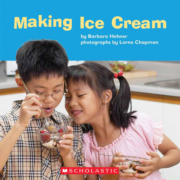 Making Ice Cream Shared Reading Pack