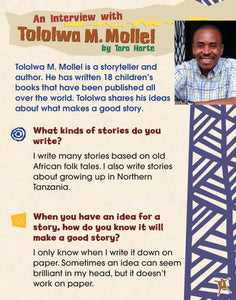 An Interview with Tololwa M. Mollel Shared Reading Pack
