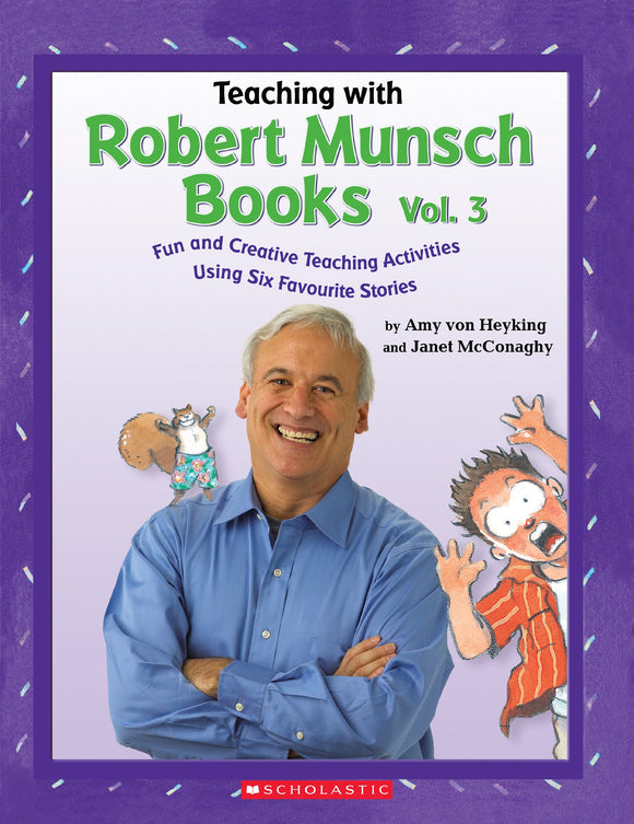 Teaching With Robert Munsch Books Volume 3 (4633385893984)