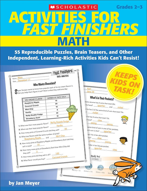 Activities for Fast Finishers: Math Grades 2-3 (4748939722848)