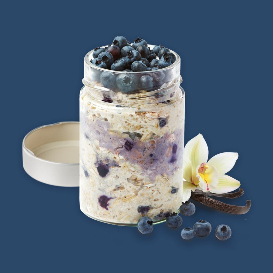 Blueberry Vanilla Overnight Oats