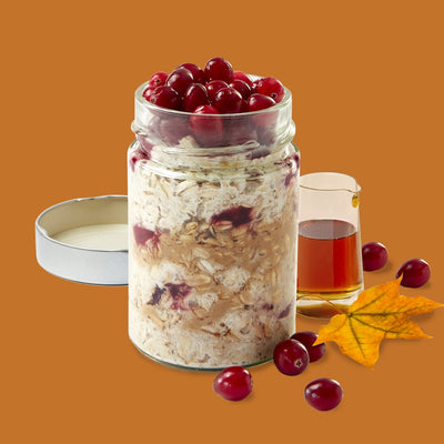 Maple Cranberry Overnight Oats