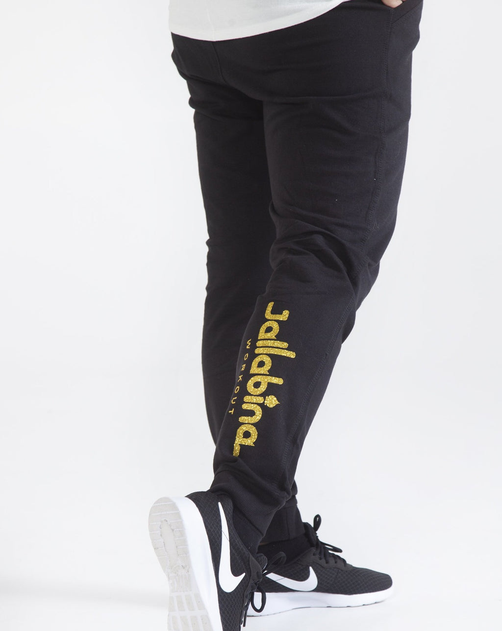 Sweatpants - Black, Red